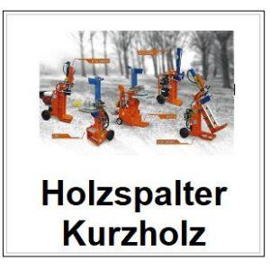 Kurzholzspalter
